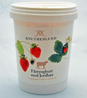 Faareyoghurt-jordbaer