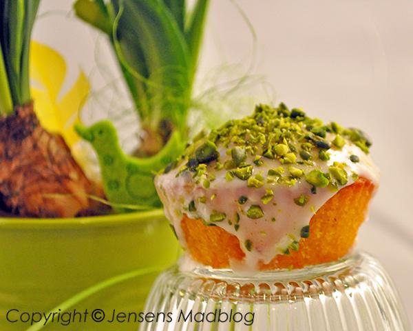 Muffins-pistacienodder